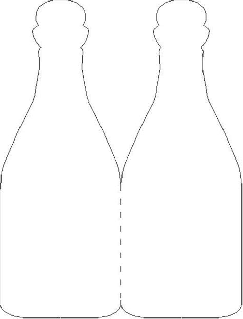 Baby Bottle Template Card by Wine Bottle Card Template Cards To Make