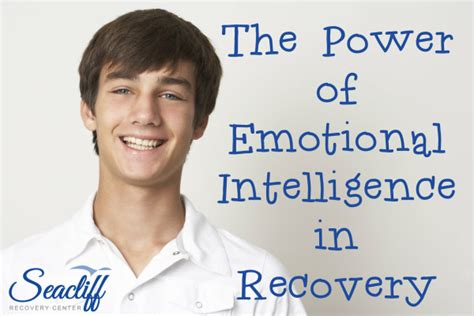 Emotional Detox With The Healing Power Of The by The Power Of Emotional Intelligence In Recovery Seacliff