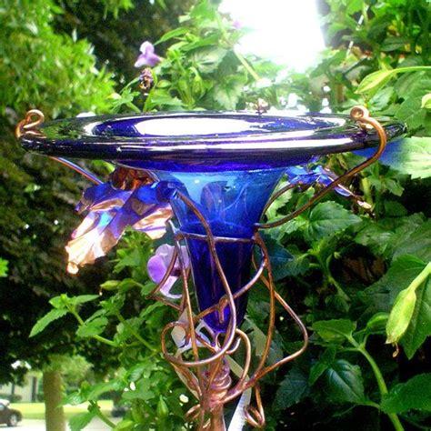 beautiful hummingbird feeder glass mosaics stained