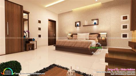 master bedroom  living room interior kerala home