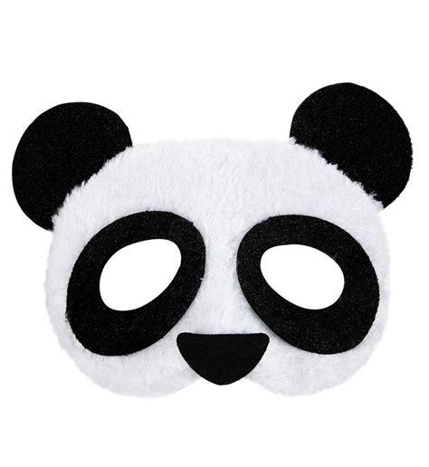 Masker Panda oogmasker panda pluche feestbazaar nl