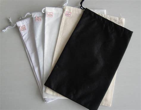 Bags Shoes white cotton muslin drawstring bags printing custom