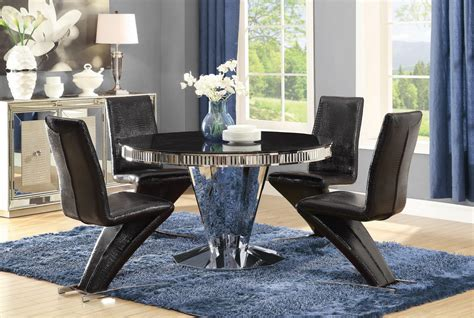 barzini dining set las vegas furniture store modern