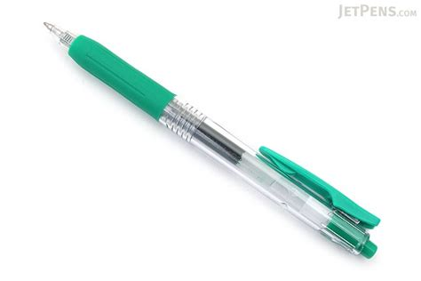 Zebra Gel Pen Sarasa Clip 0 7 zebra sarasa push clip gel pen 0 7 mm green jetpens