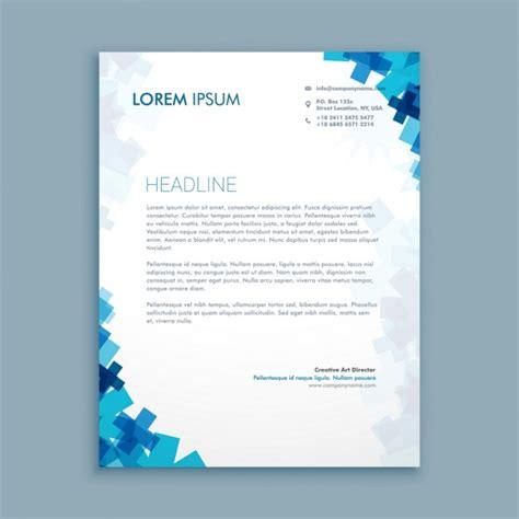 Briefpapier Design Vorlagen Business Stil Corporate Briefpapier Design Der Kostenlosen Vektor