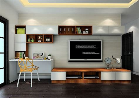 Kitchen Cabinet Desk Ideas by Tv Study Combined Colour My Space