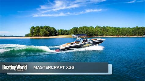 boat test mastercraft x26 boat test youtube