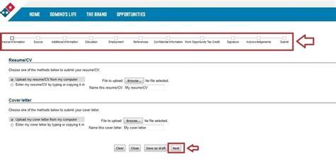 printable job application for domino s pizza how to apply for domino s jobs online at jobs dominos com
