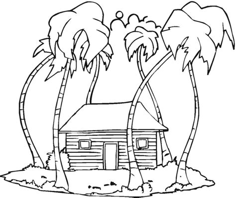 Coloring Page Landscape by Winter Landscape Coloring Pages