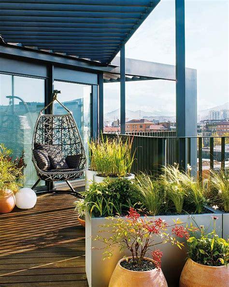 Hängesessel Balkon by 108 Gestaltungsideen F 252 R Terrassen Dachterrasse Balkon