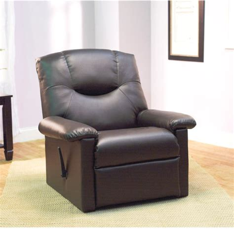 Mainstays Faux Leather Recliner by Farberware Pro Stainless Steel Rosewill 18 Pcs Stainless
