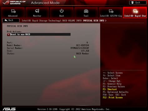 reset bios uefi guide building raid with uefi republic of gamers rog