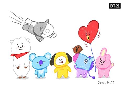 bts universtar bt21 you did well jonghyun on twitter quot bts bt21 official