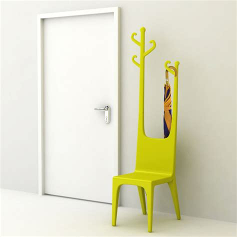 sedia appendiabiti sedia e attaccapanni combo di baita design designbuzz it