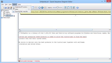 sequence diagram editor sequence diagram editor