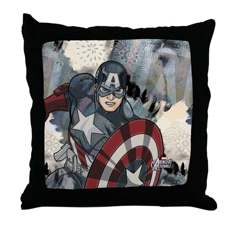 america pillow captain america throw pillow by theavengers