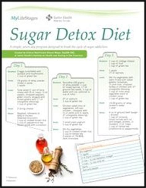 Sugar Detox Website by Sugar Detox Diet Plan A One Week Meal Plan To Help