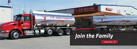 truck driving lw miller utah trucking company