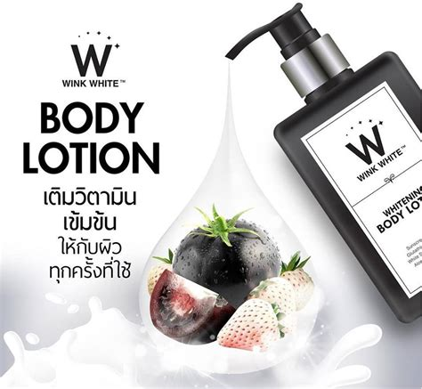 Handbody Gluta Wink White gluta wink white lotion 200 ml thailand best selling