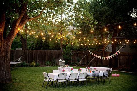 Backyard Events Domestic Fashionista Backyard Birthday Pink