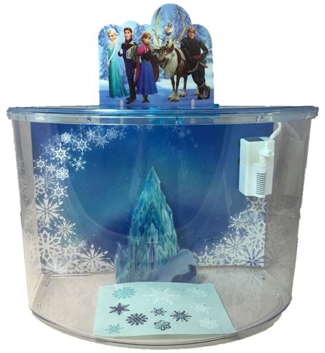Disney Aquarium Decorations by Disney Frozen Elsa Olaf Castle Ornament Penn Plax