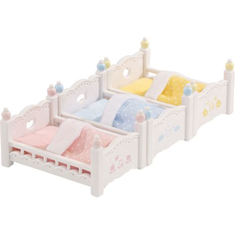 calico critters bunk beds calico critters triple baby bunk beds timbuk toys