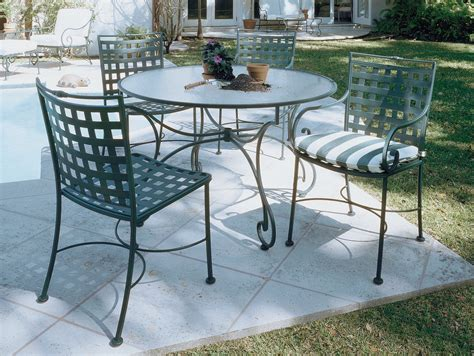 Wrought Iron Outdoor Patio Furniture Paint The Wrought Iron Patio Furniture The Home Redesign