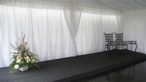 wall drapes leg drapes rainier tent liners