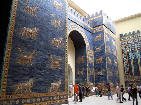 In Babylon ishtar gate