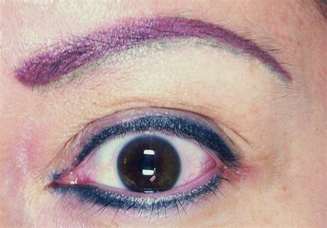 tattooed eyebrows gone wrong permanent makeup bad naturalook institute of