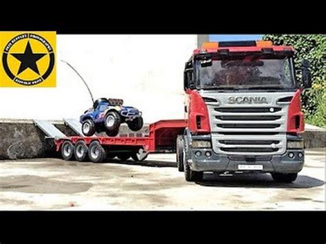 for children rc adventure bruder trucks for children meets cars rc adventure youtube