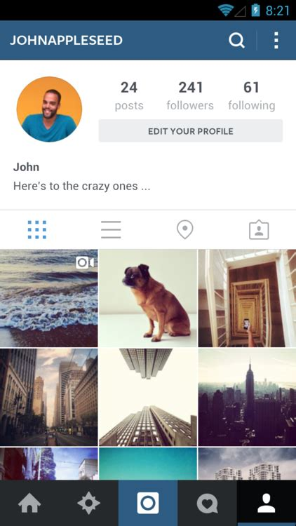 android layout like instagram a sleeker faster instagram for android instagram blog