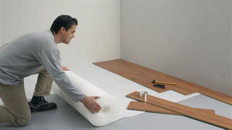 laminaat zelf leggen ondervloer leggen gamma be