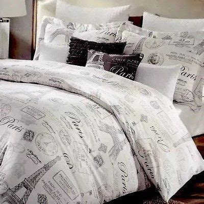 paris comforter set king cynthia rowley 5pc paris comforter king set eiffel tower