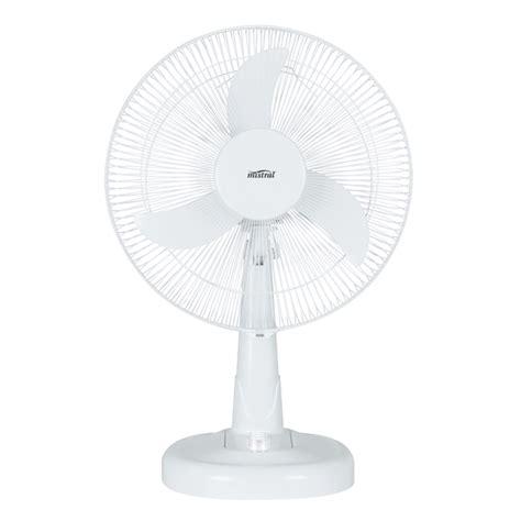 Desk Fan Bunnings by Mistral 40cm 12v White Desk Fan Bunnings Warehouse