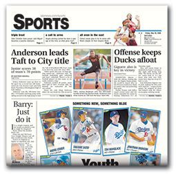 sports section newspaper what if papers cut sports sections instead of biz sections