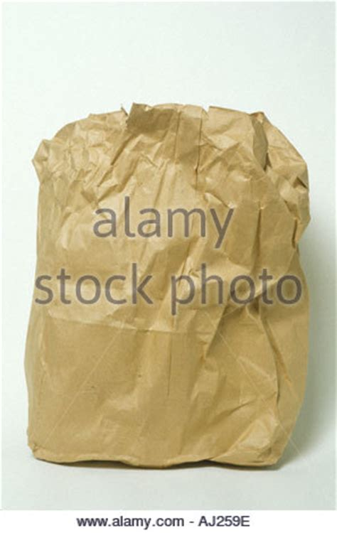 Paper Kitchen Garbage Bags Paper Garbage Bags Stock Photo Royalty Free Image
