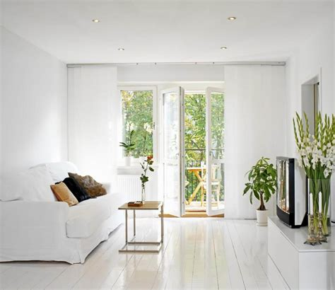 white appartment improving small living room decorating ideas with