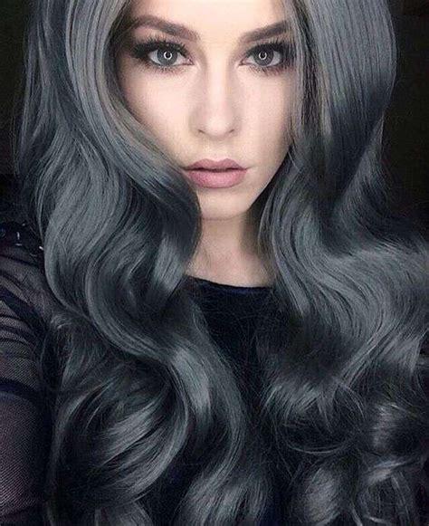tintes de cabello color gris encantadoras ideas para llevar tu cabello gris 2018