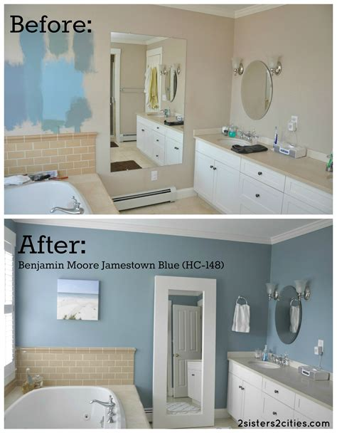 bathroom paint ideas benjamin moore 45 best paint colors for bathrooms 2017 mybktouch com