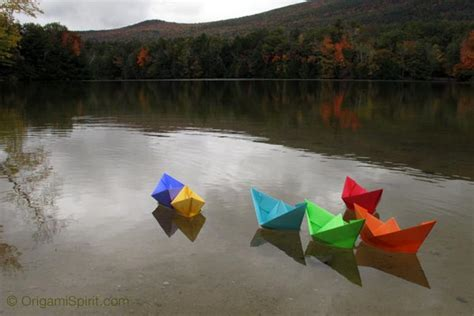 origami floating boat instructions easy video instructions to fold an origami boat