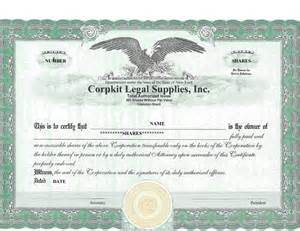 Free Stock Certificate Template by 41 Free Stock Certificate Templates Word Pdf Free