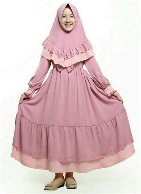 50 model baju gamis anak perempuan terbaru 2019 terlucu wikipie co id