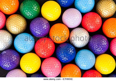 colorful golf colorful golf balls stock photos colorful golf balls