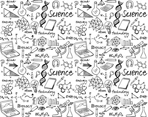 doodle science science doodle set stock vector 169 omw 64252525
