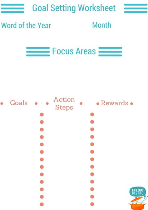 Business Goal Setting Worksheet by How To Set Goals So You Ll Actually Achieve Them Free