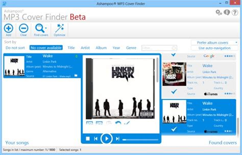 best windows search tool mp3 cover finder is a complete album search tool