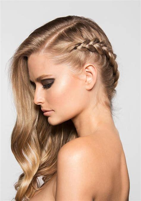 el pelo de la la moda en tu cabello lindas trenzas con el pelo suelto 2017 2018