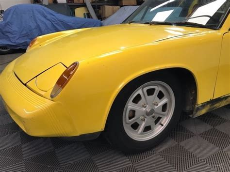 porsche 914 wheels 1975 porsche 914 2 0 yellow with black trim 5 speed