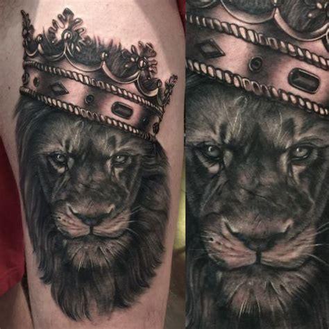 imagenes de leones misticos tatuajes de coronas dise 241 os y sus diferentes significados